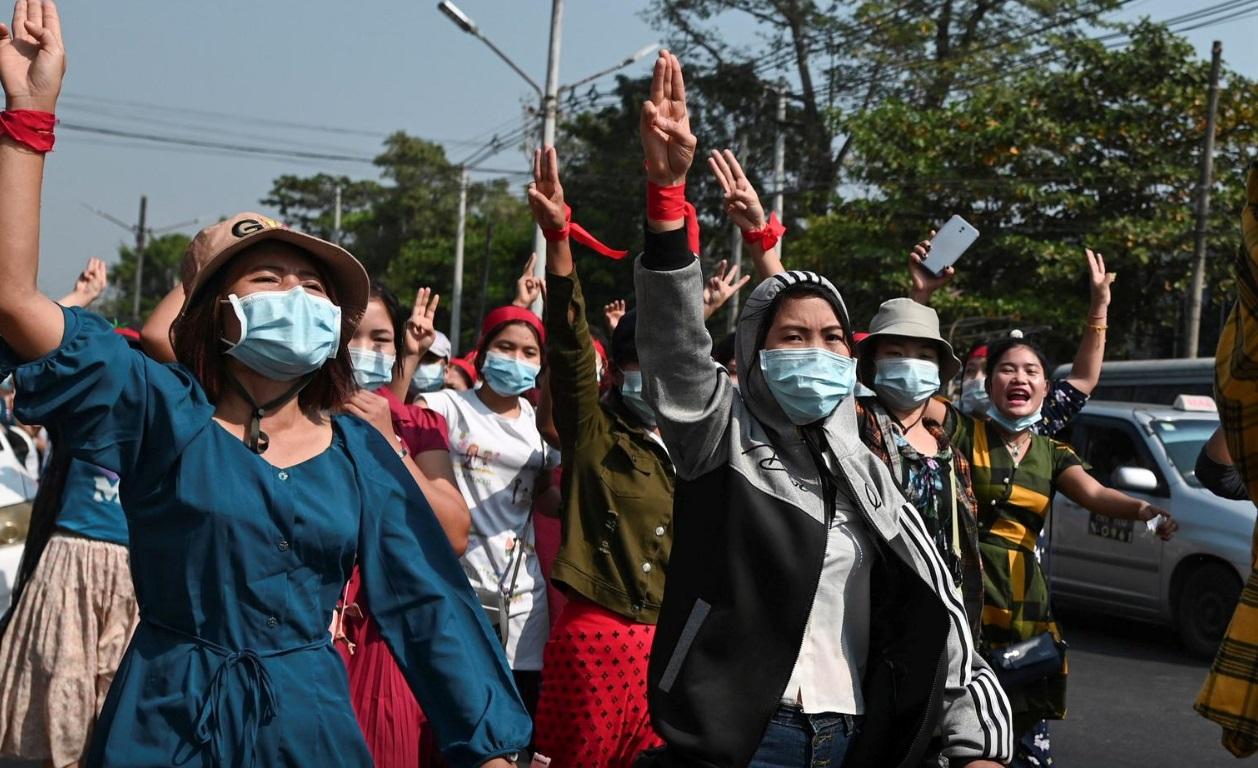 اعتراضات میانمار