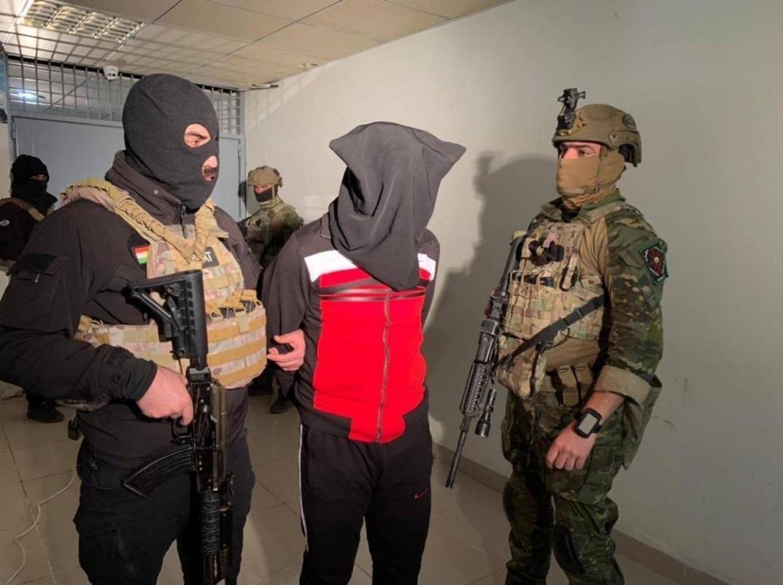 بازداشت اعضای داعش در سلیمانیه عراق