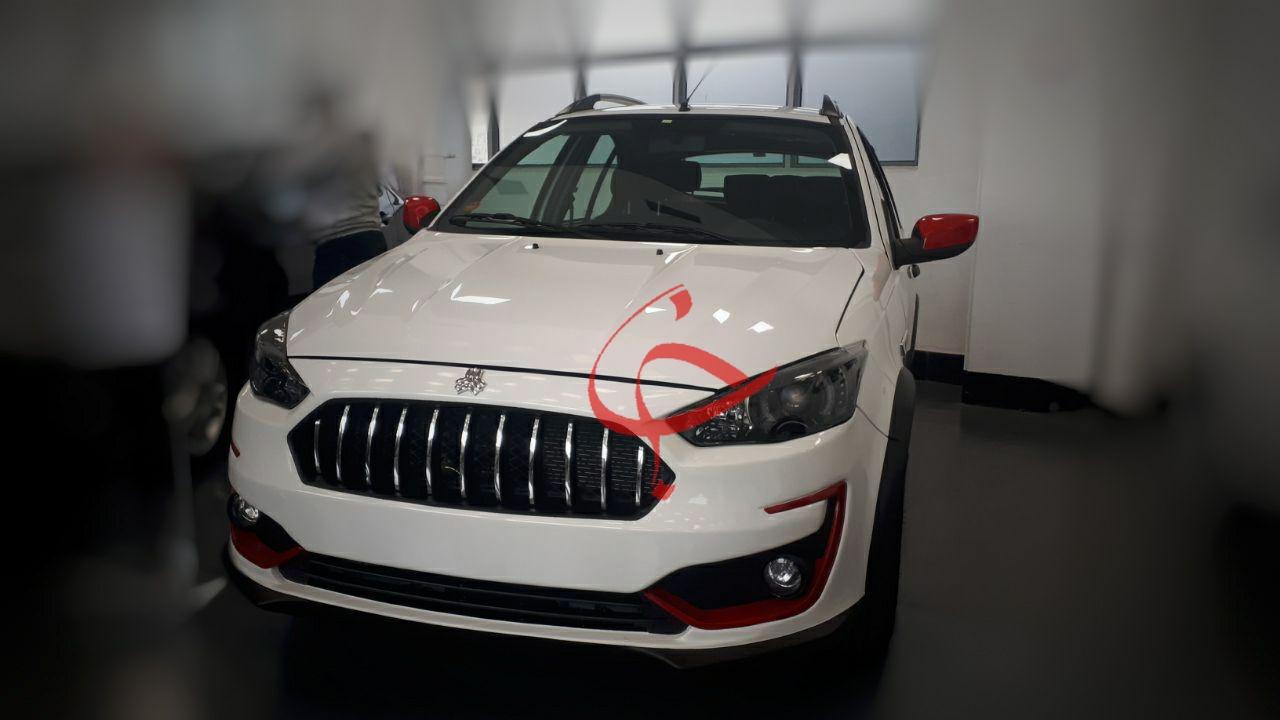عکس لو رفته از خودروی جدید سایپا به نام