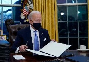 بایدن: محتوای نامه ترامپ را فاش نمیکنم