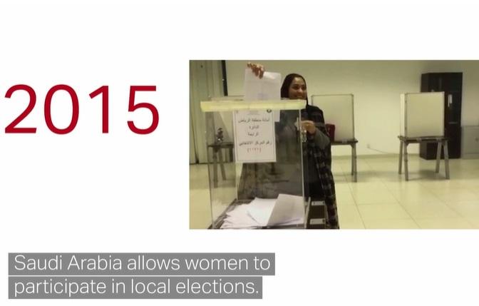 حق رای زنان در عربستان