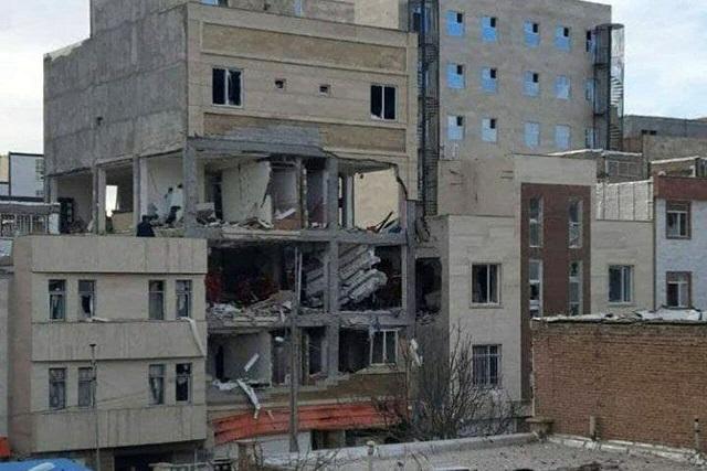 انفجار مهیب با ۱۵ مصدوم و ۲ فوتی در اردبیل (+عکس)