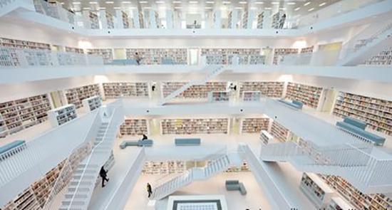 کتابخانه شهر اشتوتگارت