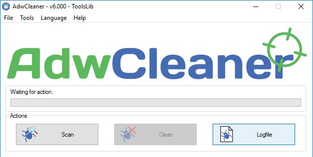 حذف برنامه های تبلیغاتی مزاحم در ویندوز با AdwCleaner