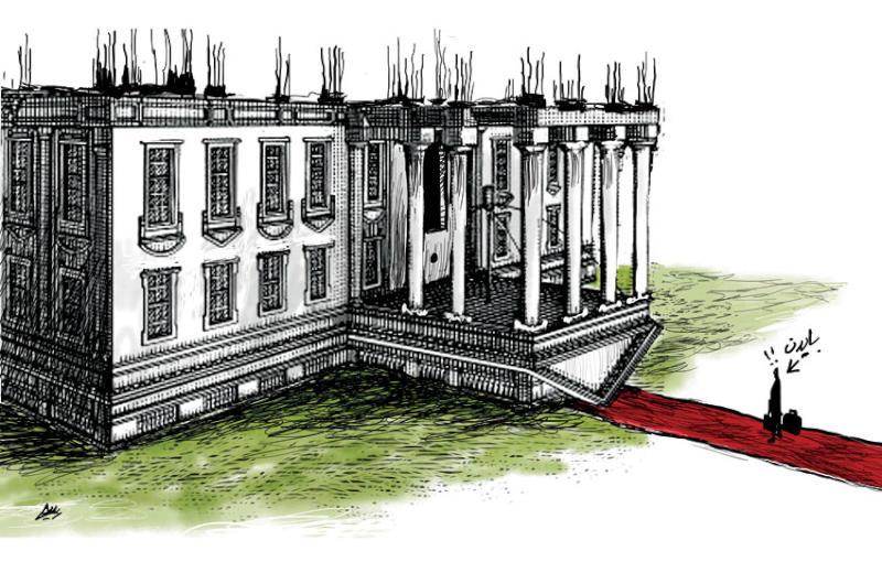 کاخ سفید زیر و رو، میراث ترامپ (تصویر)