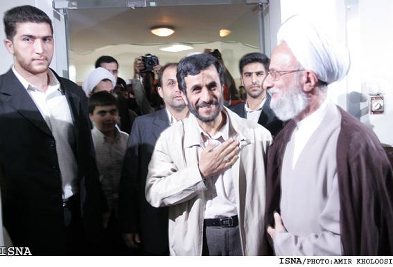 دلیل عدم تسلیت احمدینژاد بعد از فوت آیتالله مصباح