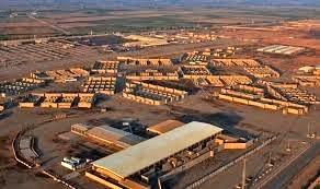 حمله راکتی به پایگاه نظامیان آمریکایی در بغداد