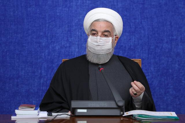 روحانی: حداقل تا ۶ ماه آینده باید رعایت پروتکلهای بهداشتی را ادامه دهیم