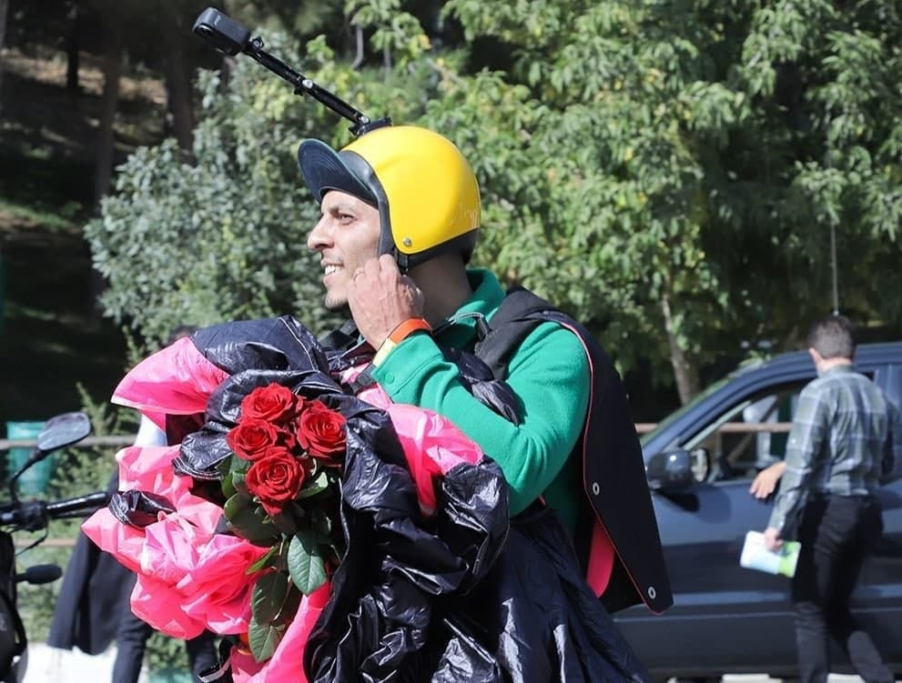 جزئیات دلخراش سقوط جوان چترباز در سالگرد حادثه مرگبار ساختمان پلاسکو