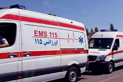 ۲۲ مصدوم در تصادف اتوبوس با کامیون در حوالی شهرری