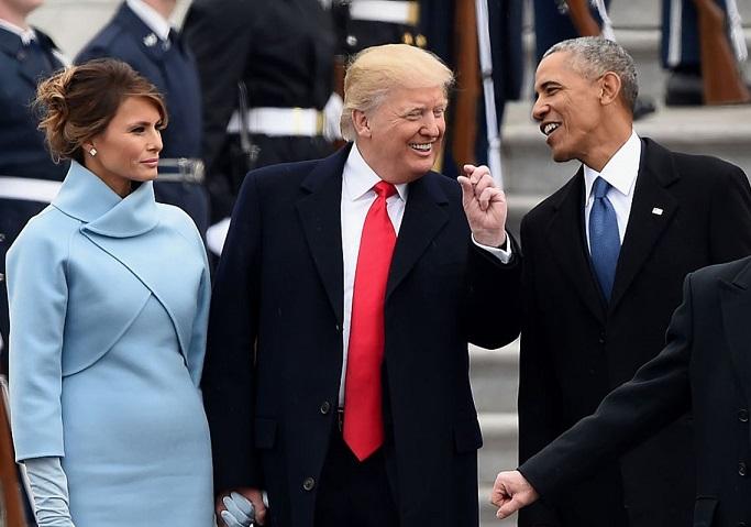 قیافه ترامپ: روزی که وارد کاخ سفید شد، روزی که رفت (تصاویر)