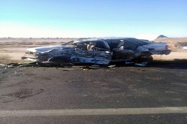 5 کشته در تصادف در مسیر نیکشهر به چابهار