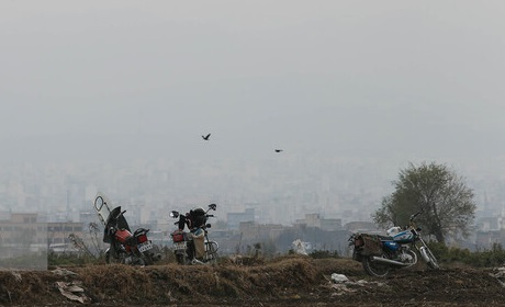 زنگ خطر آلودگی هوا در مازندران