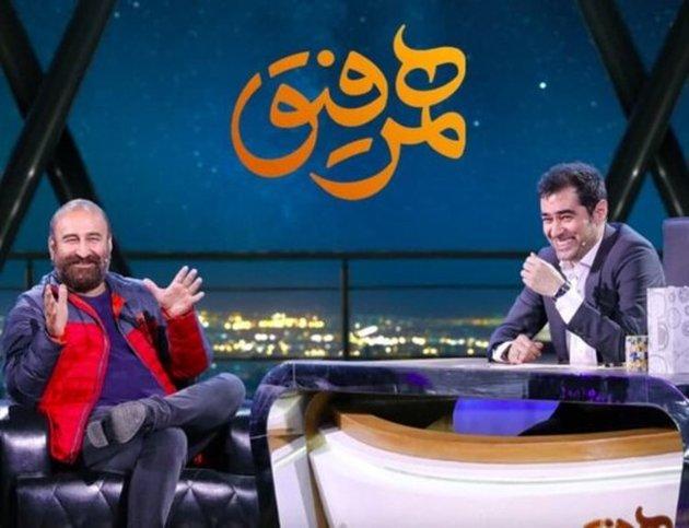 مهران احمدی و شهاب حسینی