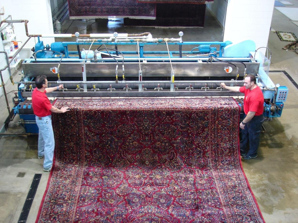 قالیشویی با دستگاههای بهروز و پیشرفته
