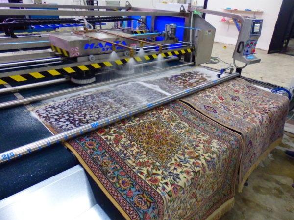 قالیشویی با روش مدرن و تمام اتوماتیک