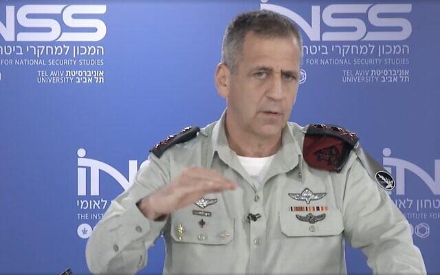 رییس ستاد مشترک ارتش اسراییل: بایدن نباید به برجام بازگردد/ به ایران هوا نرسانید تا خفه شود/ طرح های حمله به ایران را آماده کردم