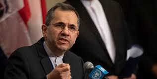 نماینده ایران در سازمان ملل: دولت بایدن بداند هرگونه تاخیر در لغو تحریمها بیانگر ادامه خصومت با مردم ایران است