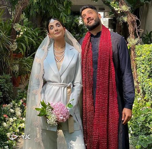 لباس عروسِ هندی سوژه رسانه ها شد  (+عکس)