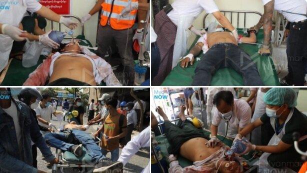 سازمان ملل: دستکم ۱۸ معترض در میانمار کشته شدند