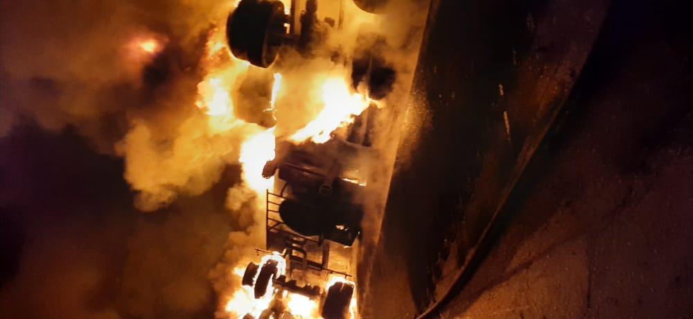 واژگونی تانکر سوخت در محور اهواز - شوش/ یک نفر کشته شد