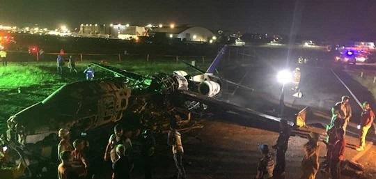 سقوط هواپیمای در سودان/  ۱۰ نفر کشته شدند (+عکس)