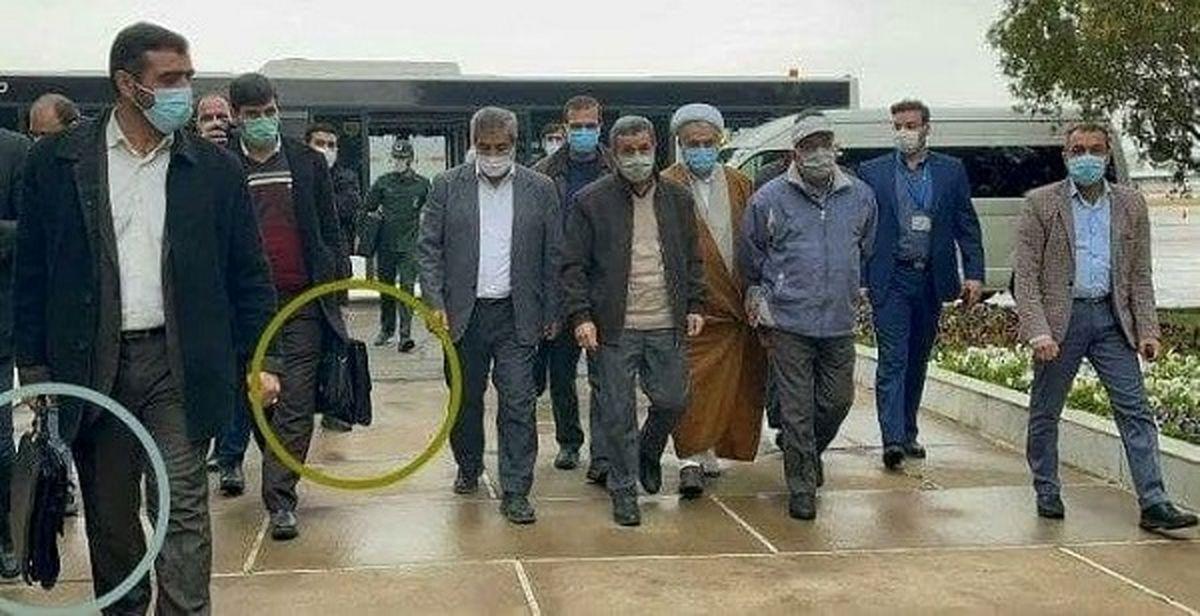 کیف های ضد گلوله برای حفاظت از احمدی نژاد در سفر سی سخت (عکس)