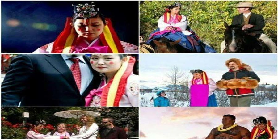 این زن رکورد ازدواج در جهان را دارد (+عکس)