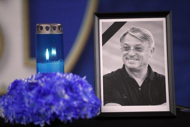مراسم خاکسپاری کرانچار سرمربی سابق پرسپولیس (+عکس)