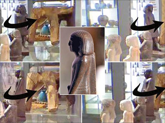 راز مجسمهای مومیایی که به دور خود میچرخد (+عکس)