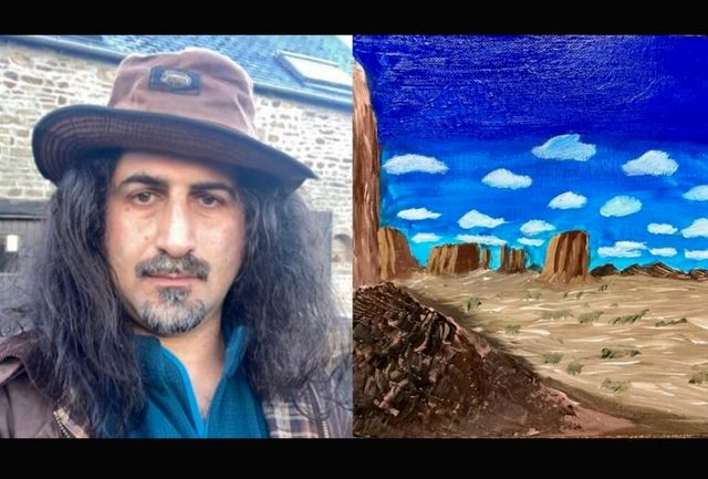 پسر بن لادن نقاش شد (+عکس)