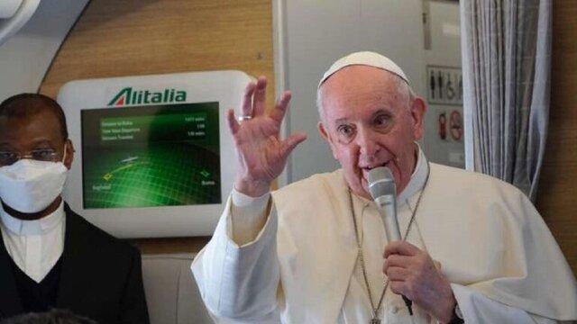 پیام پاپ برای رئیس جمهور عراق/ آیتالله سیستانی گفت ۱۰ سال است با افراد سیاسی دیدار نمیکند