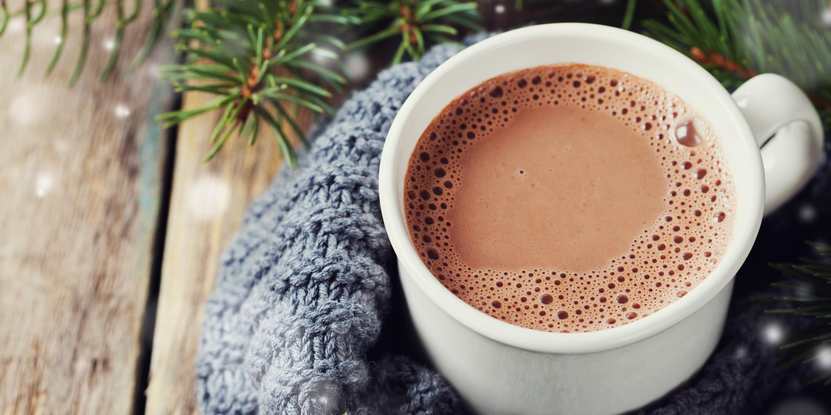طرز تهیه شکلات داغ
