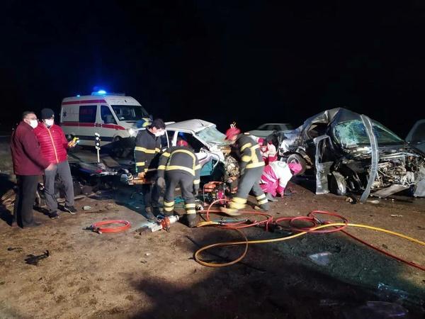 تصادف خونین خودروی هنرمندان ارومیه در جاده سلماس/ ۴ نفر جان باختند