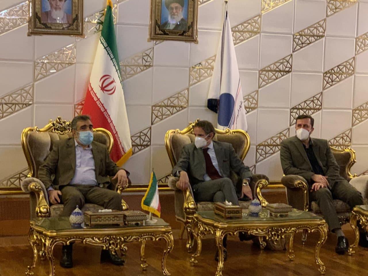 ورود مدیر کل آژانس انرژی اتمی به تهران (عکس)
