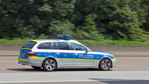 پلیس وسژه اتوبان آلمان