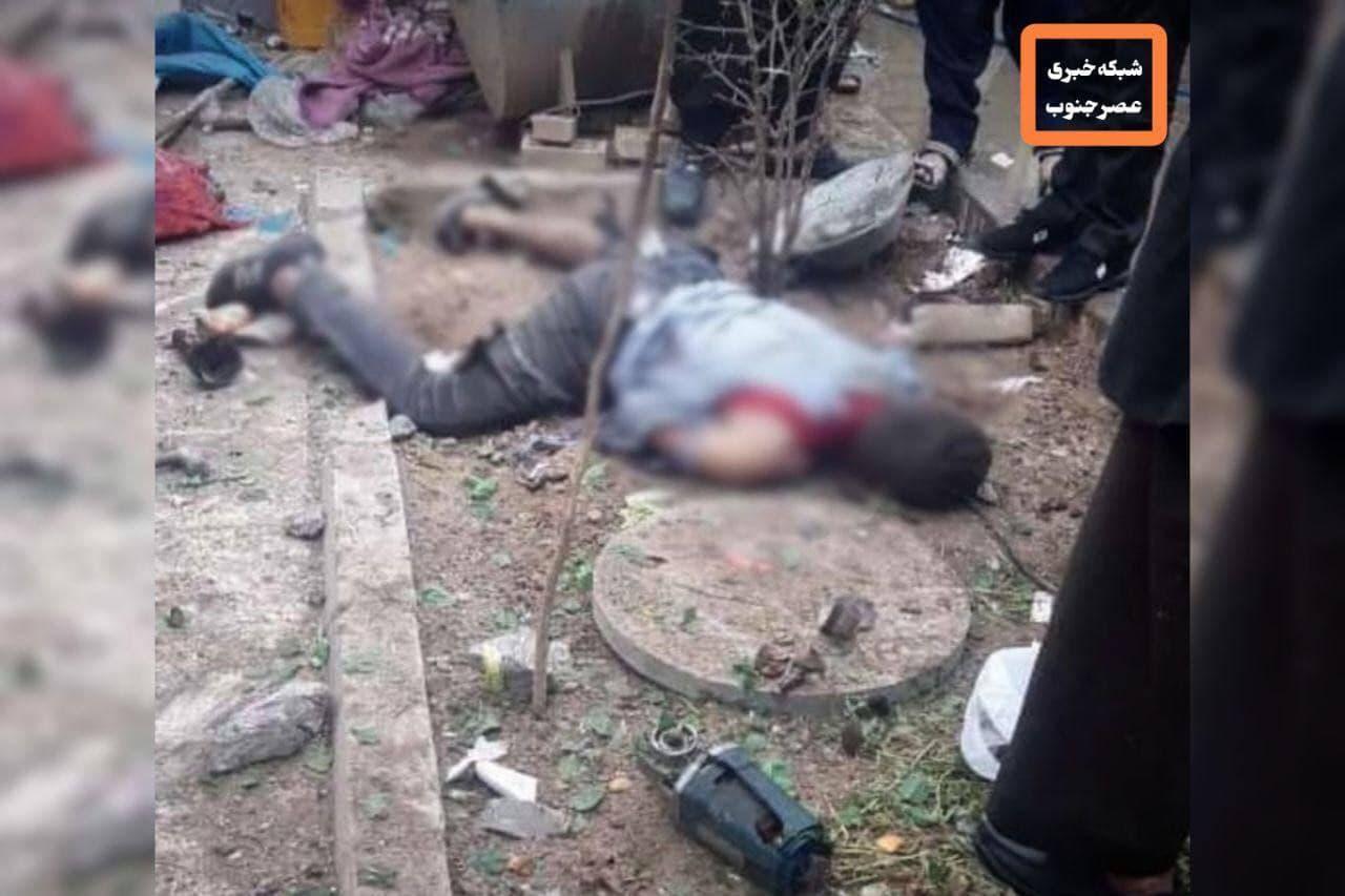 کشته شدن یک شهروند درپی انفجار توپ به جای مانده از جنگ در اندیمشک (+عکس)