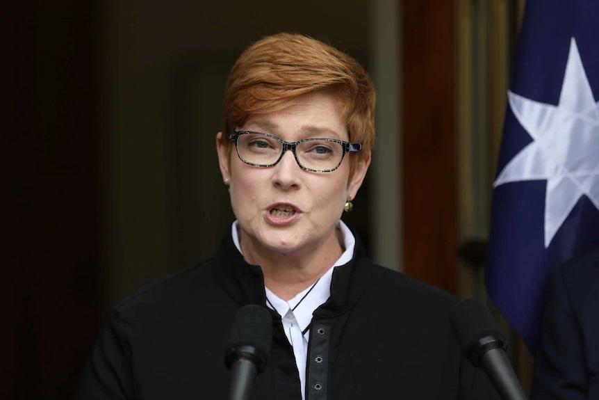 ماریس پین وزیر زنان استرالیا