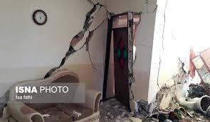 خسارت ۸۰ درصد منازل مسکونی شهر سی سخت بر اثر زلزله