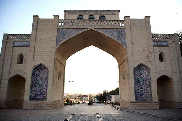 کلید دروازه قرآن شیراز گم شد