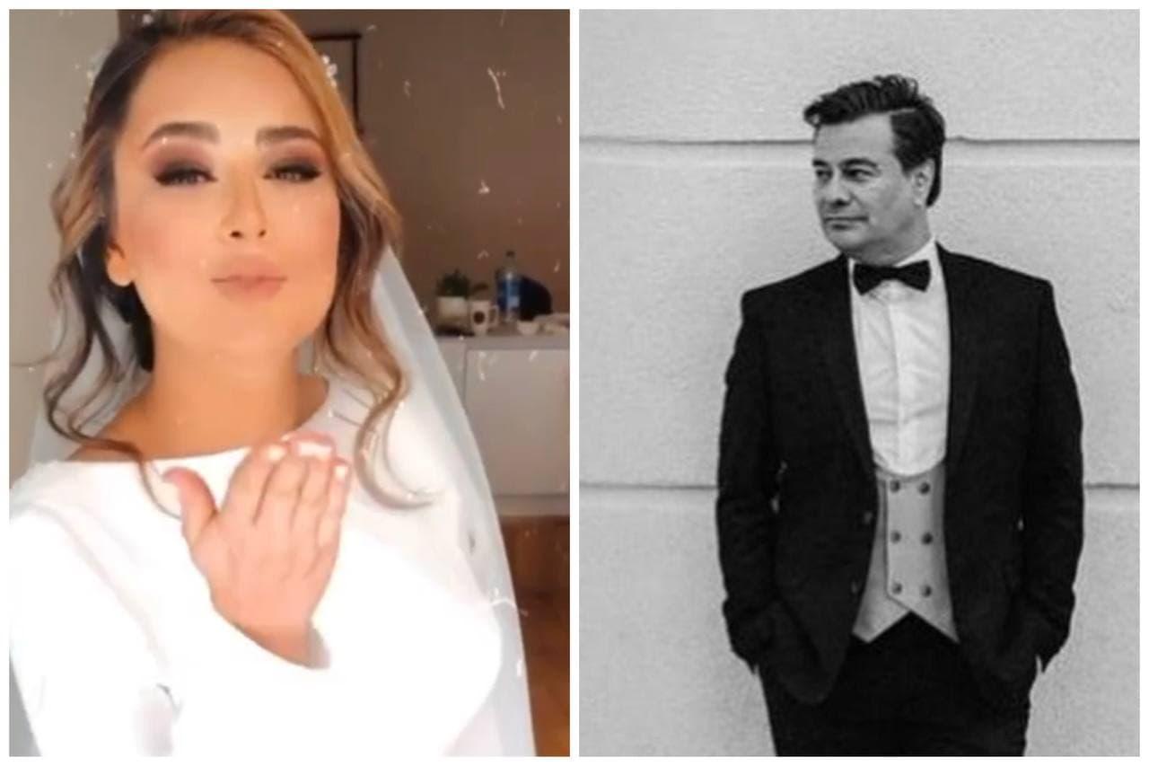 پیمان قاسمخانی و همسر جدیدش (عکس)