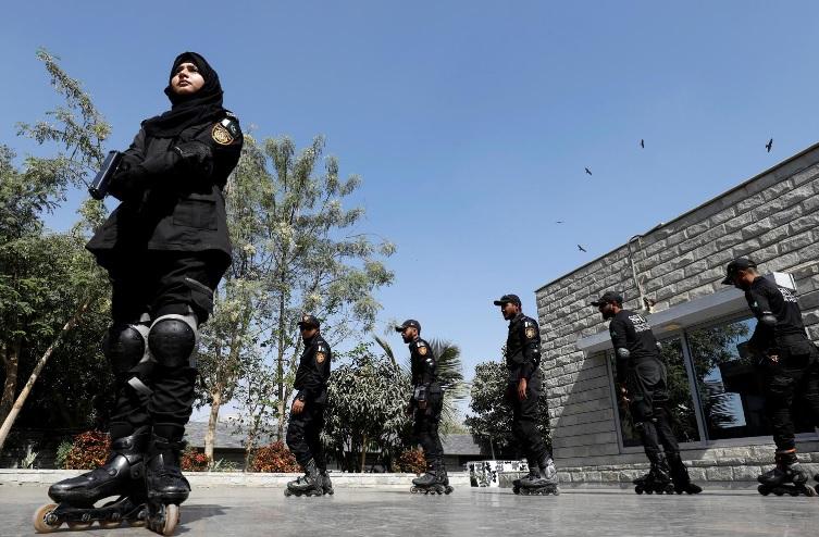 اسکیت؛ راهکار جدید پلیس پاکستان برای دستگیری مجرمان