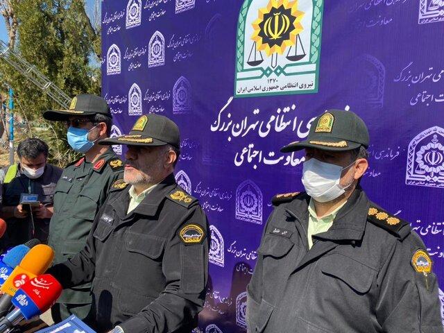 رئیس پلیس تهران: اجاره پشتبامها و پدیده پشت بام خوابی را قویا تکذیب میکنم