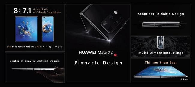 هوآوی Mate X2 معرفی شد