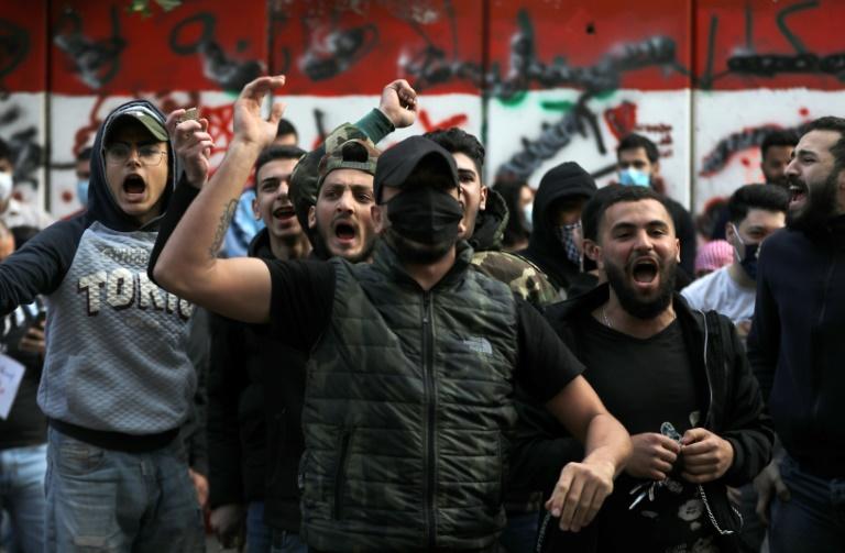 خیابان لبنان تظاهرات