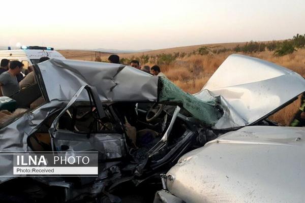 6 کشته در تصادف دو خودرو در کرمان