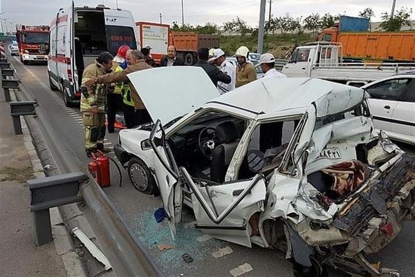 افزایش ۴ درصدی جان باختگان حوادث رانندگی در مازندران