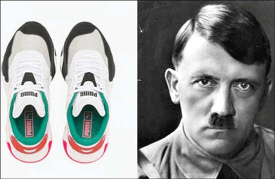 کفش پوما و هیتلر