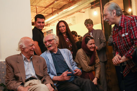 مهمانی محمود دولتآبادی