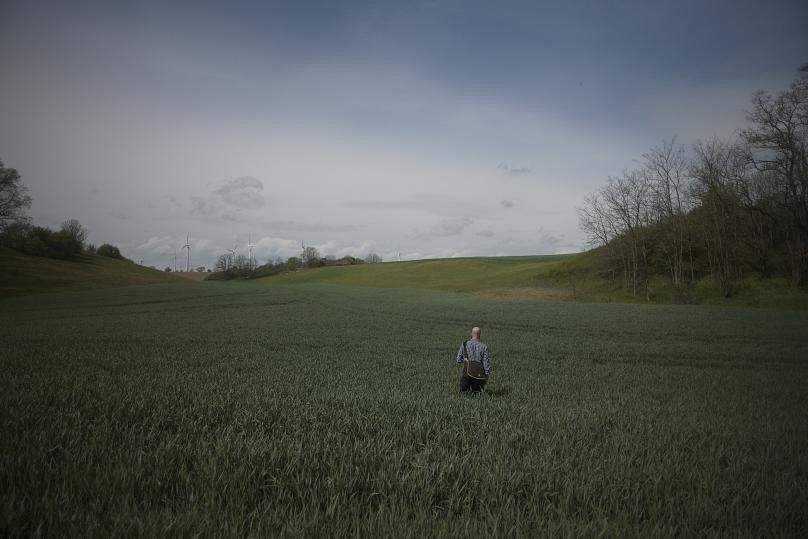 مزارع اطراف روستای کلسین آلمان